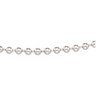 4.5mm Sterling Silver Hollow Bead Chain Ref 753198