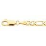 4mm Solid Figaro Chain with Lobster Clasp Ref 100702