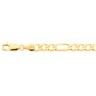 5mm Solid Figaro Chain with Lobster Clasp Ref 838774