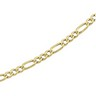 4.75mm Solid Figaro Chain with Lobster Clasp Ref 711749