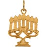 Menorah Pendants